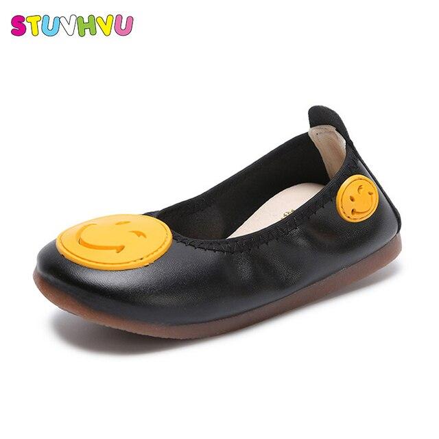 1df5321a0ff64 Automne enfants chaussures de danse mignon plat fille bambin décontracté  chaussures de mariage pour enfants blanc