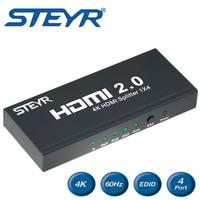 STEYR 1X2 1x4 HDMI 2 0 Splitter 4K HDMI Splitter With Full Ultra HDCP 2 2