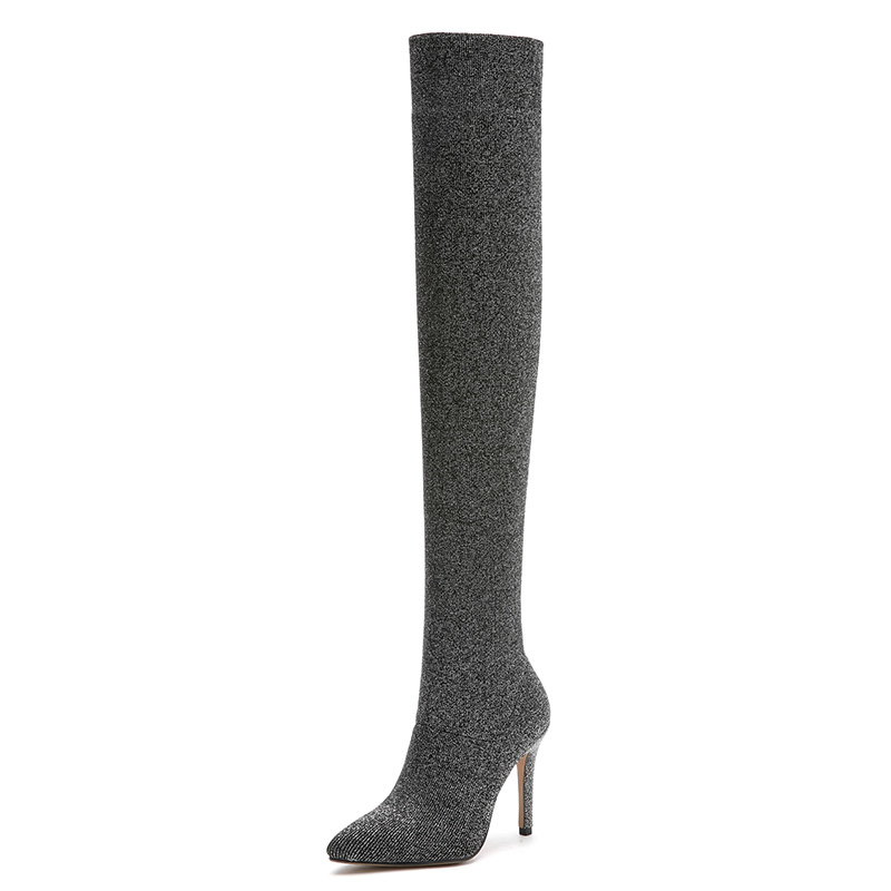 thigh high boots women shoes botas mujer invierno dames schoenen mannen vrouw ladies over the knee boots