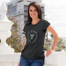 Shadowhunters T-Shirt All Runes Symbol T Shirt Short-Sleeve 100 Cotton Women tshirt O Neck Ladies Tee