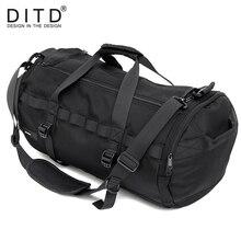DITD Fashionable Travel Bag Large-Capacity Sports Mens Womens Handbags Hot Sales Versatile Business Waterproof GYM bag