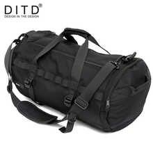 DITD Fashionable Travel Bag Large-Capacity Sports Bag Men\'s Women\'s Handbags Hot Sales Versatile Business Bag Waterproof GYM bag - DISCOUNT ITEM  40% OFF Luggage & Bags