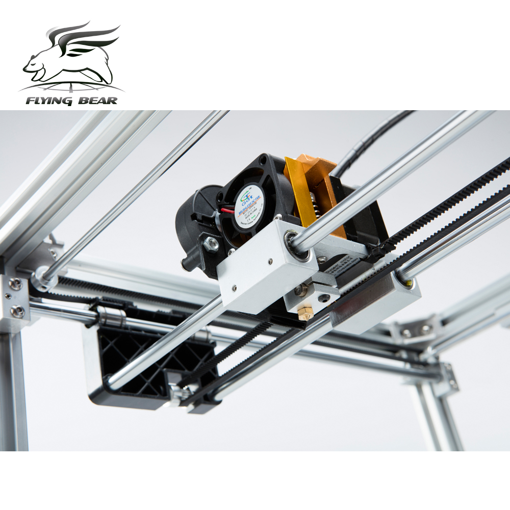 Free shiping Flyingbear P905H DIY 3d Printer kit Full metal Large printing size High Quality Precision aliexpress com buy free shiping flyingbear p905h diy 3d printer  at reclaimingppi.co