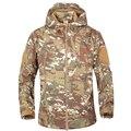 Softshell Tactical Jacket Men High Quality Fleece Warm Man Coats Waterproof Windbreacker Hombre Outerwear Military Army Jackets