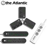 LDNIO ALL EU UK Universal Standard Power Socket Outlet USB Adaptercharger Dock 5V3 4A Surge Protector