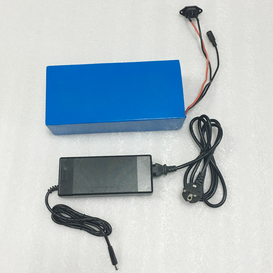 48V 15AH electric bike battery lithium battery LiFePO4 1500 times cycles with charger and BMS with PVC case 48 volt li ion battery pack electric bike battery with 54 6v 2a charger and 25a bms for 48v 15ah lithium battery