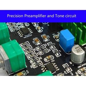 Image 2 - TPA3116D2 Bluetooth 5.0 Digitale Versterker Qcc3003 100W * 2 2.0 Stereo Audio Versterker PCM5102A Subwoofer Met Geluidskaart