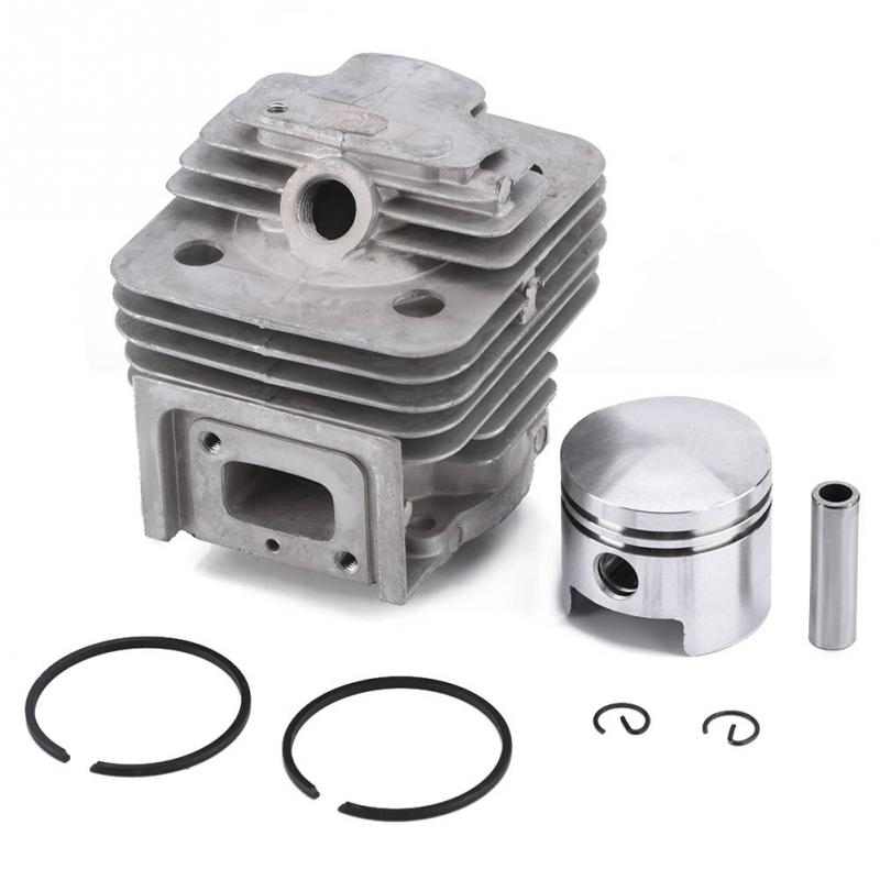 44MM Lawn Mover Cylinder Piston Kit Ring Set ForMITSUBISHI TL52 BG520 Brush Cutter Engine Garden Power Tools Parts