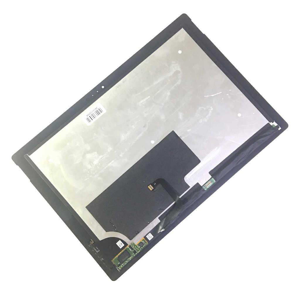 LCD ل مايكروسوفت السطح برو 3 (1631) TOM12H20 V1.1 LTL120QL01 003 شاشة الكريستال السائل مجموعة المحولات الرقمية لشاشة تعمل بلمس