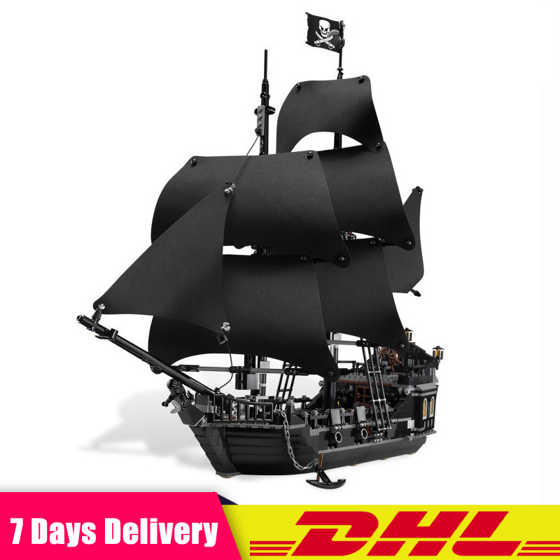 LEPIN 16006 804pcs Pirates of the Caribbean the Black Pearl Ship Model Building Blocks Bricks Toys Compatible LegoINGlys 4184 цена 2017