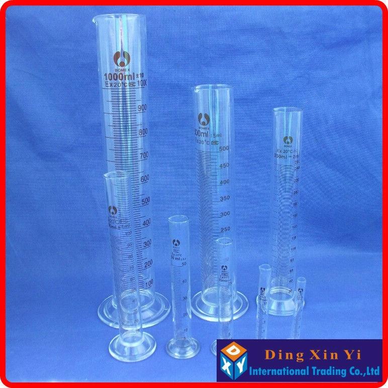 Cilindro de Laboratório 1000 ml de vidro cilindro Modelo Número : 1000ml