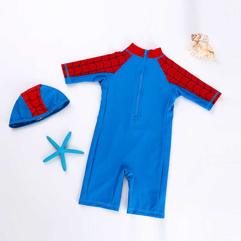 e3cdac9852 ... USEEMALL Spiderman Boys Girls Swimwear Brand Summer Baby Kids Swimsuits  One Pieces Swimming Clothes Cute Bathing ...