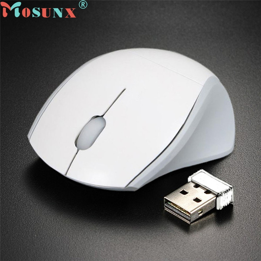 Mosunx Splendid 2.4GHz Mice Optical Gaming Mouse Cordless USB Receiver PC Computer Wireless For Laptop