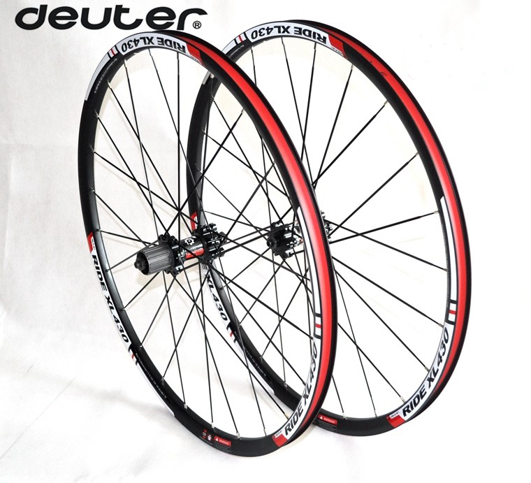 26/27.5ER MTB wheelset CNC alloy rim cycling DIY mountain bike wheels bearings hub compatible 8/9/10 speed clincher 4 colors