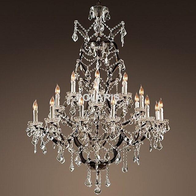 rustic crystal chandelier wood vintage rustic crystal chandelier lighting candle chandeliers pendant lamp hanging light for dining room online shop