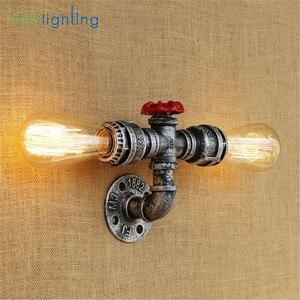 Image 3 - Aplique rústico Industrial de estilo Edison E27, lámpara de pared, accesorio de montaje