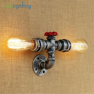 Image 3 - Modern E27 Edison Style Industrial Rustic Sconce Wall Light Lamp Fitting Fixture cicilighting
