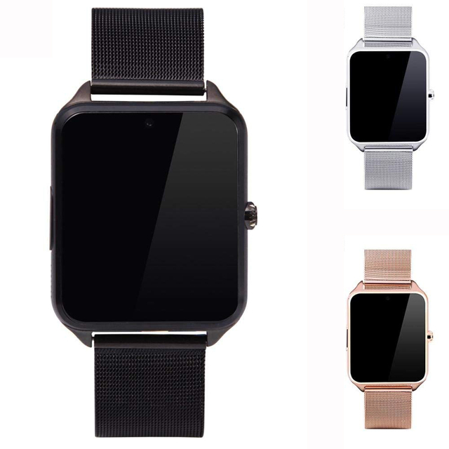 best website cd471 77335 US $21.24 15% OFF Smartwatch Watch Cell Phone Activity Tracking Sleep  Monitoring Bluetooth for iPhone, Android, Samsung, Galaxy Note, Nexus,  HTC-in ...