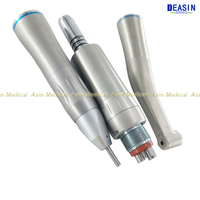 high quality Dental low speed Motor Straight Contra Angle Slow Speed Handpiece inner spray For Lab Micromotor Polish Tool
