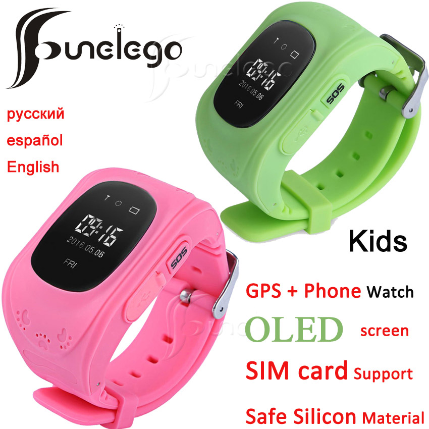 Funelego q50 Smart Watch For Kids GPS Tracker For Children Wearable <font><b>OLED</b></font> Screen With SIM Card Slot Cell Phone Baby Watch image