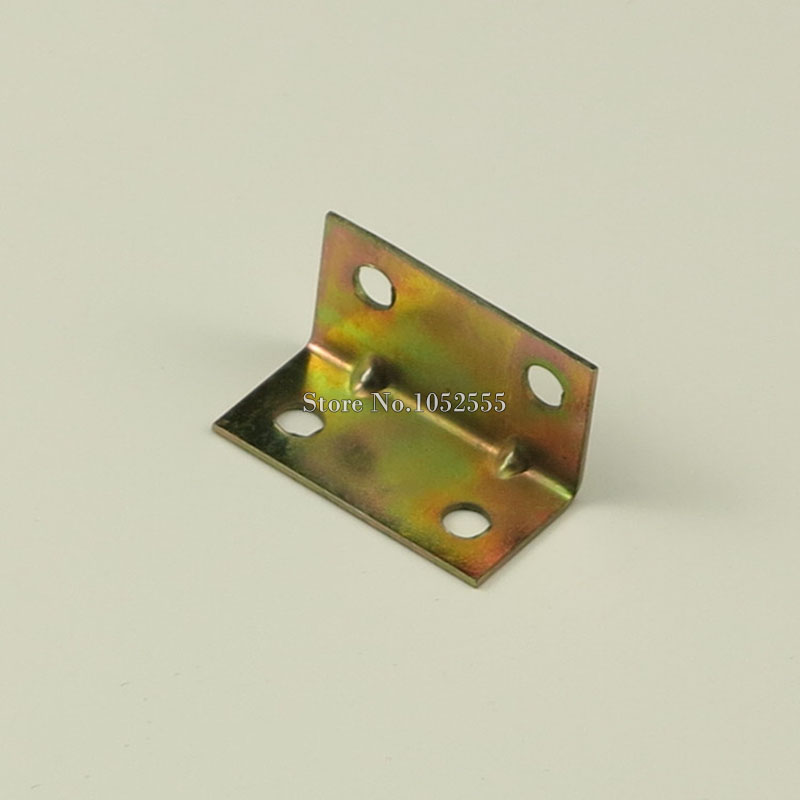 ᗖ50 unids 32*16mm hierro L forma Muebles conexión Soportes de ...
