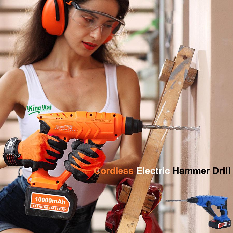 HTB1p37BSpXXXXXcXXXXq6xXFXXXM - 828 5000 10000mAh Long Duration Hammer Cordless Drill Rechargeable Lithium Battery Multifunctional Electric Hammer Impact Drill