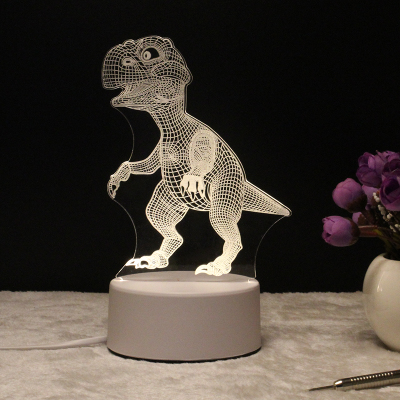 3D Dinosaur Creative Gifts Star Wars Lamp 3D Night Light Led Table Desk Remote Contro as Home Decor Bedroom Reading Nightlight 3d led desk lamp football sport night light for soccer bedside nightlight gift luminaria bedroom lighting reading children lamp
