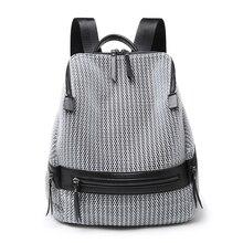Купить с кэшбэком Fashion Backpack Women Leisure Back Pack Korean Ladies Knapsack Casual Travel Bags for School Teenage Girls Classic Bagpack 2018