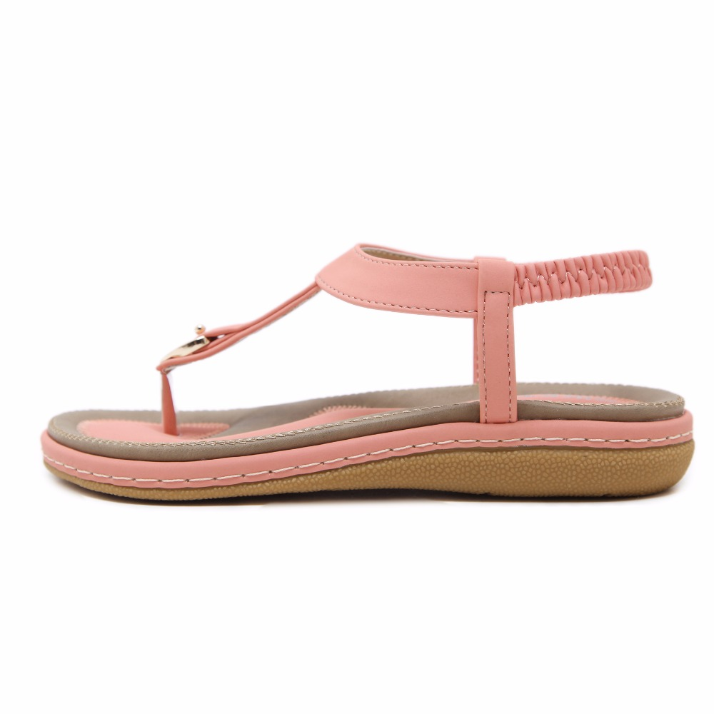 fb63cd0bbb4 Yükle (1000x1000)Doratasia 2018 moda büyük boyutu 35-45 yaz sandalet kadın  ayakkabı flats kadın elastik bant ayakkabı 4 renkler satın almak    AyaDoraTasia ...