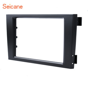 Image 2 - Seicane Car Double Din Stereo Fascia Panel Adaptor DVD Frame Trim For Audi A6 C5 Refit Bezel Marco Dashboard Installation Kit