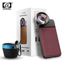 APEXEL 85 мм 3X HD телефотографические линзы профессиональный телескоп Портретные линзы, без темного круга для samsung huawei Xiaomi все мобильные телефоны