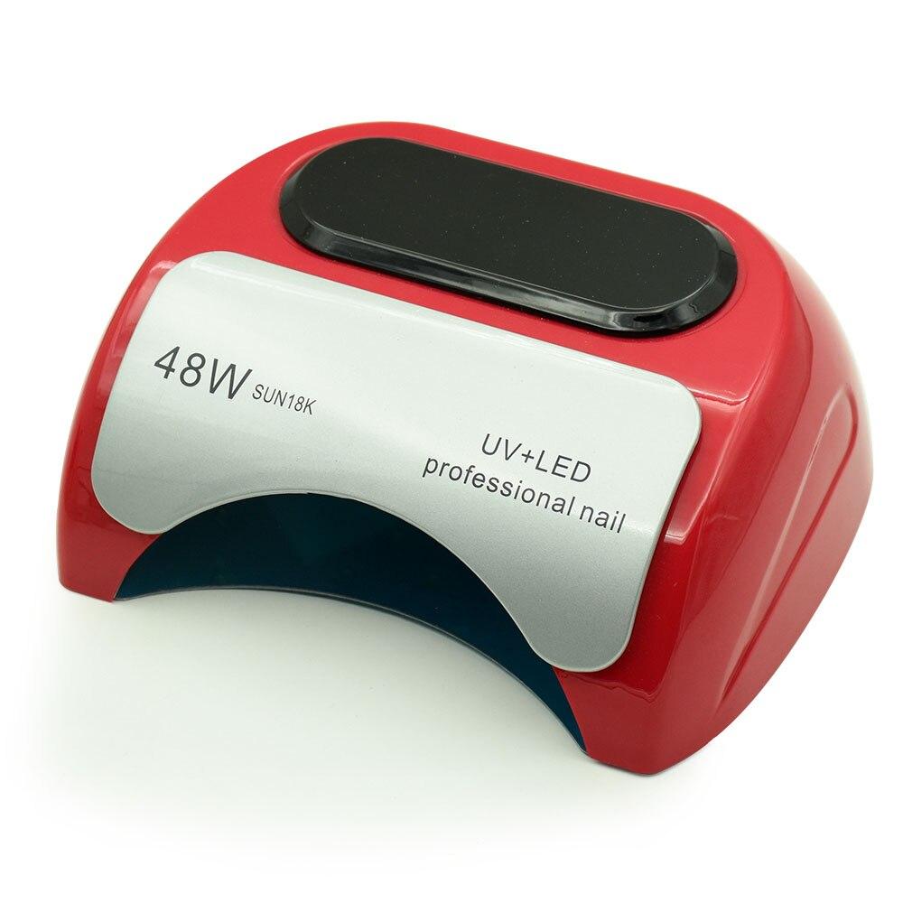 Professional 48W UV LED Lamp Nail Dryer For Nail Gel Polish Curing LED Nail Lamp Dryers Art Manicure Automatic Sensor Nail Tools