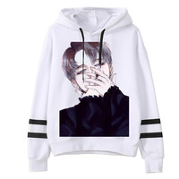 2018 Kpop Female Long Sleeve Hooded Harajuku Women Hoodies BTS Cartoon Printed Sweatshirts Tops Bts JIMIN