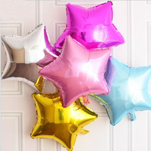 18inch 11 colors Stars Balloon Aluminum Foil Balloons Party Decoration Balloons Celebration Supplies