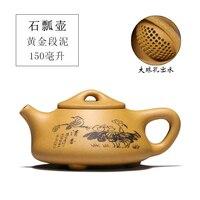 Neue yixing empfohlen kung fu tee-set alle arten von topf typ manuelle empfohlen die teekanne