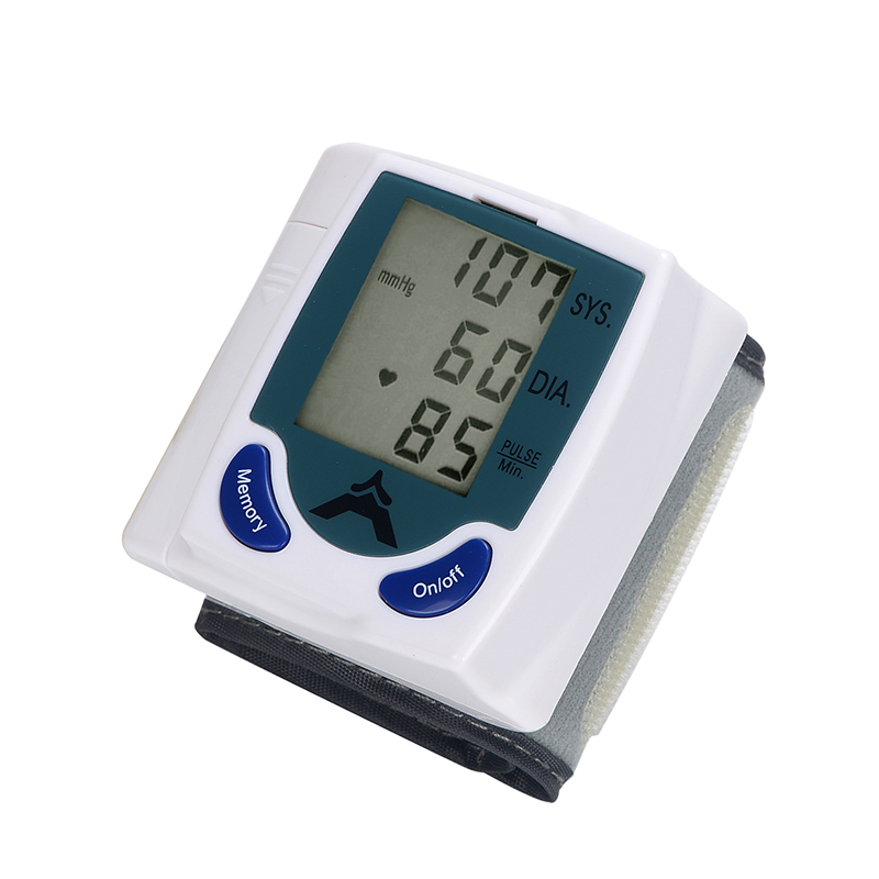 Medidor de Pressão Arterial Automático Esfigmomanômetro Sangue Braço