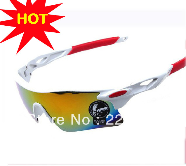 Safety explosion-proof riding sun glasses UV 400 Sports Eyewear Racing Goggle free shipping