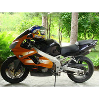 Customize full fairing kit for Kawasaki ZX9R 02 03 brown black aftermarket road Fairings bodywork Ninja ZX 9R 2002 2003 YH12
