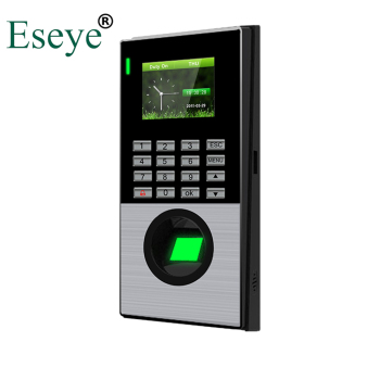 цена на Eesye Biometric Fingerprint Time Attendance System TCP/IP Clock Recorder Fingerprint & Card Password Employee Electronic Machine