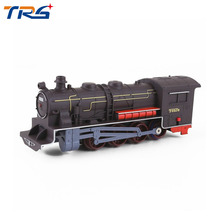 Large Electric Simulation Train Toy Model Locomotive Architectural Sence Accessories