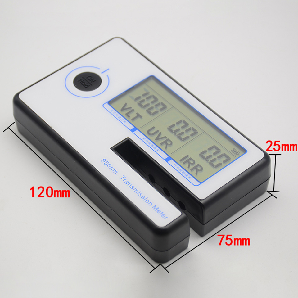 Image 5 - Portable Solar Film Transmission Meter Tester Window Tint Light Transmittance Meter JN 951