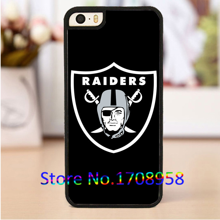 oakland raiders phone cover case for iphone 4 4s 5 5s 5c SE 6 6s & 6 plus 6s plus &TO1837