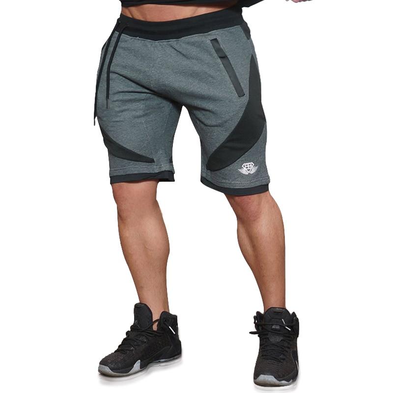 KORKSLORES 2016 NEW Summer Mens Shorts Sporgymt Casual Short brand clothing boys Shorts Men Jogger Trousers Knee Length Shorts