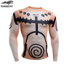 Naruto Bodybuilding Long Sleeve 3d t shirt Crossfit (10 styles)