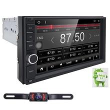 1G RAM 2 din 7″ Android 6.0 Universal Car DVD Player juke qashqai almera x trail note X-TRAIL sentra for Nissan GPS+DAB OBD WIFI