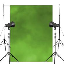 Exquisite Solid Green Photography Backdrops Children Studio Background 150x220cm