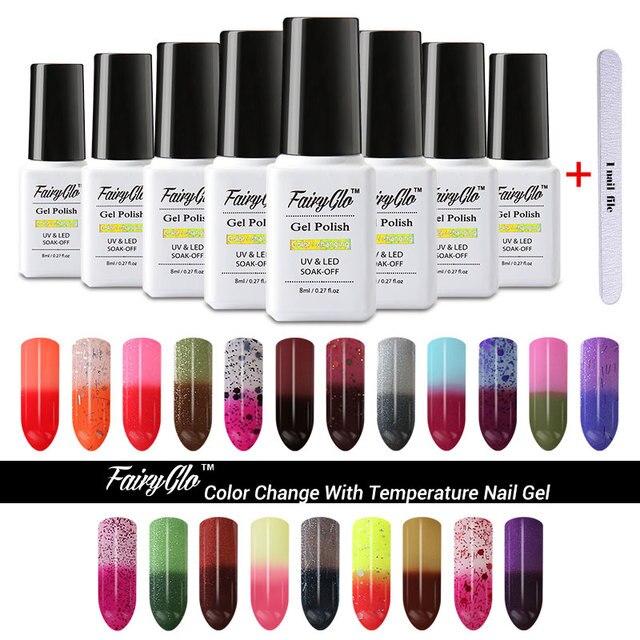 FairyGlo Buffer Archivo de Conjunto de Color Cambio de Temperatura ...