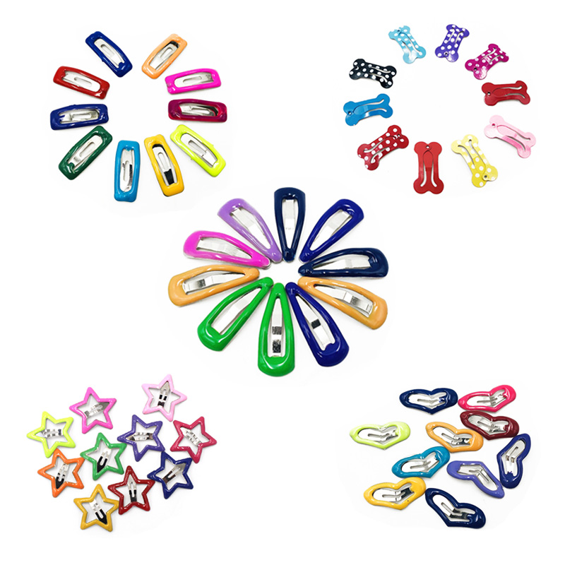 pawstrip 10pcs/lot Start Pet Dog Hairpin About 2cm Small Puppy Cat Hair Clips Pet Hair Accessories Dog Hair Grooming