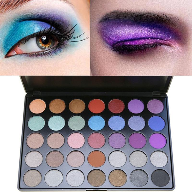 Fashion Style Miaool 15 Colors Shimmer Eyeshadow Palette Waterproof Gold Purple Blue Eyeshadow Powder Mineral Brighten Smoky Eyeshadow Mn103 Beauty Essentials Beauty & Health