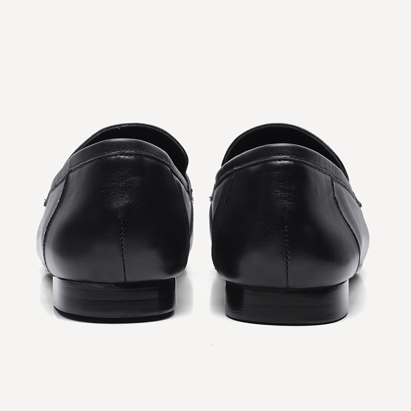 militare libero donna sul ins il chic casual slip nero da Comfort tempo 2019 naturale scarpe genuino data della del beige verde mucca marca per britannico stile Doratasia cuoio qpCOcfZn